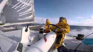 Hydroptere To Hawaii Crossing 2015