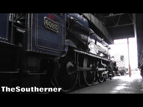A look around GWR 6023 'King Edward II' at the Didcot Railwa…