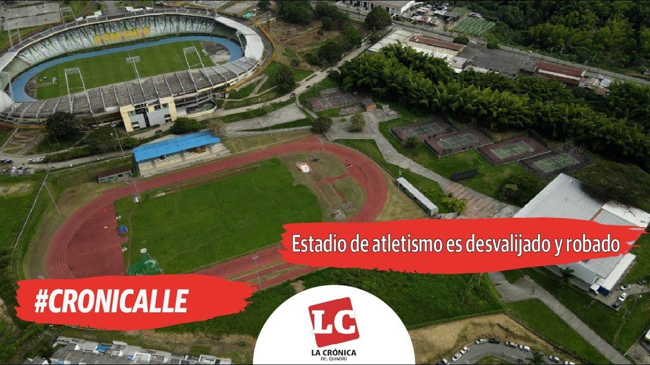 #Cronicalle : Estadio de atletismo es desvalijado y robado