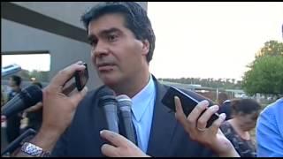 preview picture of video '18 de DIC. Declaraciones a la prensa de Jorge Capitanich en Ezeiza.'