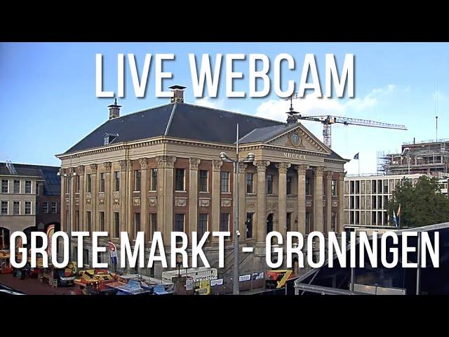 Live Webcam Grote Markt, Groningen