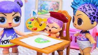 СМЕШНЫЕ Мультики про Куклы ЛОЛ Сюрприз #40 Игрушки LOL Dolls Surprise для детей