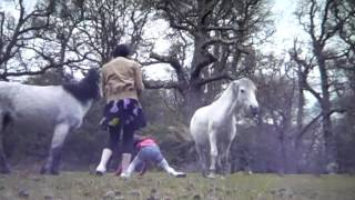 LIttle Girl Wearing Pink Gets Kicked By Horse With No Helmet - Would A Helmet Have Saved Her