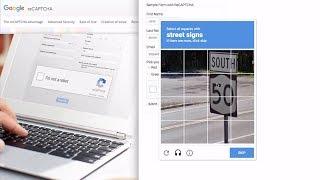 Bypass reCAPTCHA Robot Check