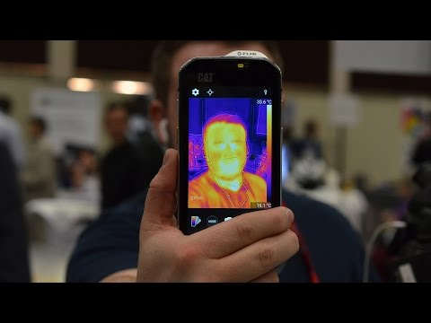 The first smartphone with a built-in thermal camera