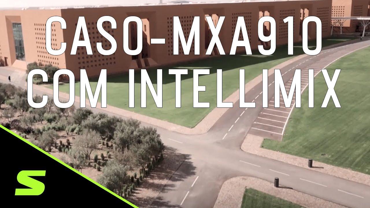 Case de sucesso - Microfone de teto MXA910 com IntelliMix na univesidades Mohammed VI do Marrocos