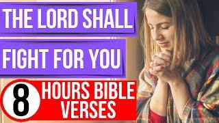 Spiritual warfare prayer scriptures (Encouraging Bible verses for sleep)