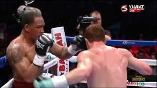 Сауль Альварес(Canelo Alvarez ) vs Джеймс Киркленд/Нокаут года