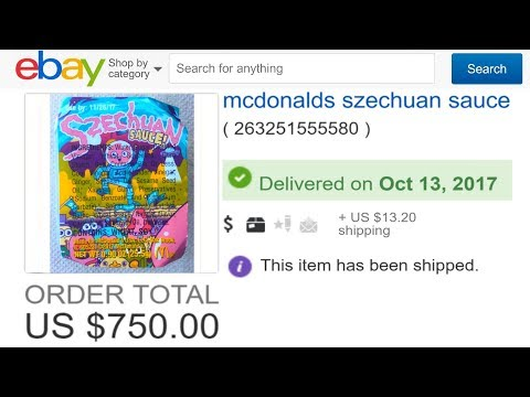 Why I paid $750 for one Szechuan Sauce packet