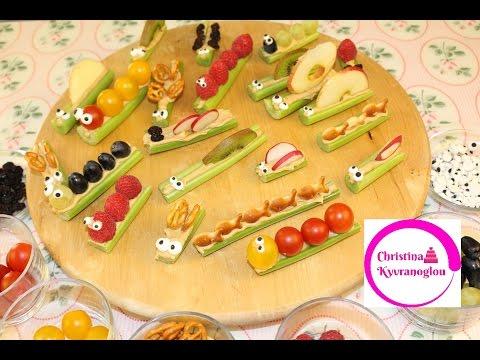 Συνταγές για τον πιο ωραίο μπουφέ σε παιδικό πάρτυ