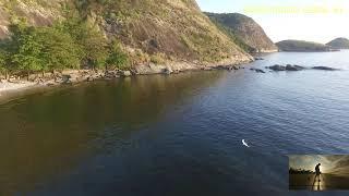 Tour aéreo natureza Itaipú Niteroi RJ Dji Drone Phantom 4 Pro V2 0