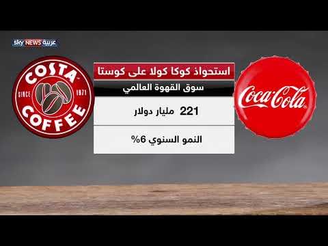 العرب اليوم - شاهد: كوكا كولا تشتري مقاهي كوستا بـ 5.1 مليار دولار