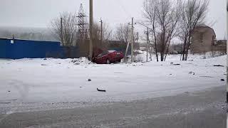 Авария в Уральске