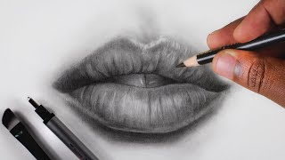 How To Draw Lips: Step By Step