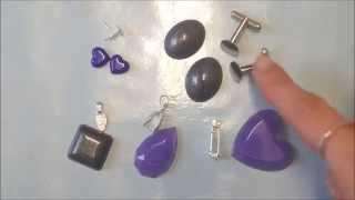 Adding Finishings to Resin Jewellery
