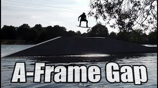 #2 Cablepark Wakeboard Intermediate – A-frame gap obstacle