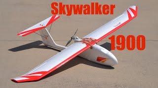 Skywalker 1900 build & maiden flight