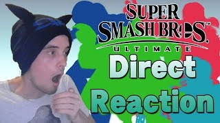 LIVE REACTION!? SMASH BROS. ULTIMATE DIRECT! [8th of August] - FIVE NEW CHARACTERS!?
