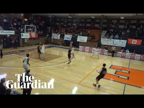Incredible full-court shot on the buzzer wins basketball game