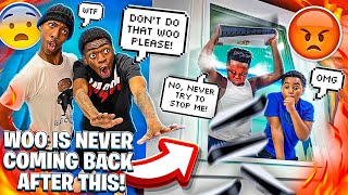 WOO THREW THE GAMEROOM PS5 OUT THE WINDOW💔& JAY MADE A DISS SONG TO HIS EX'S!😱