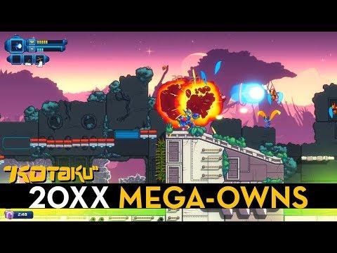 20XXIs A Procedural Mega Man XAnd It Feels Perfect