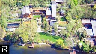 Inside Bill Gates $154 Teched Out Mega Mansion