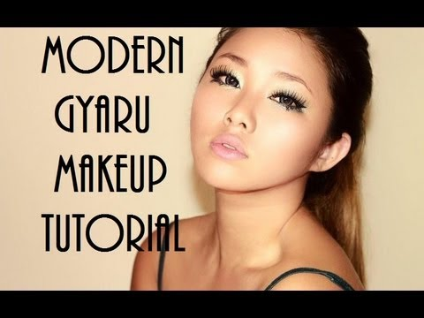 **MODERN GYARU**inspired Look (Monolids!)