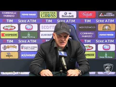 Preview video Le parole di mister Iachini in vista di Torino-Empoli