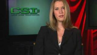 Lauren Lee Smith - CBS : You Ask They Tell - CSI Interview