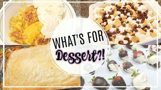 WHAT'S FOR DESSERT | EASY DESSERT RECIPES | THE WELDERS WIFE