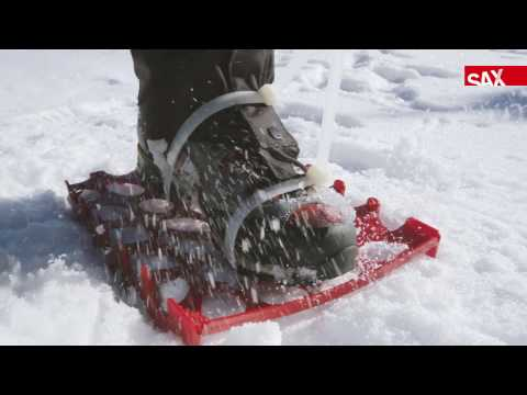 Sax Aktenkörbe als Schneeschuhe