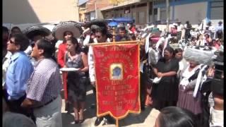preview picture of video 'fiesta de tolata 14 de septiembre 2012  1ª parte pasante de morenada j.s elmer jimenz c.c.'