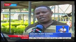 KTN Prime: 47 Days of accountability focuses on Nakuru cross checking on the scrupulous books
