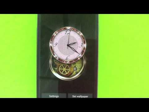 Video of Clockwork HD LWP: Jewels