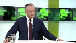Додон о Приднестровье