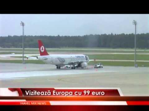 Vizitează Europa cu 99 euro – VIDEO
