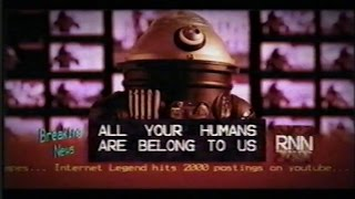 """The Rise Of The Robots"" - Trailer - Sci-Fi Feature Film - From VHS VCR Tape"
