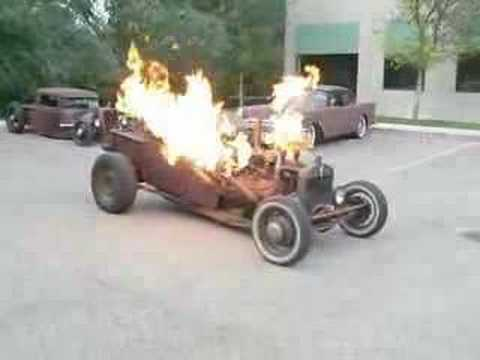 Flame Shooter Rat Rod