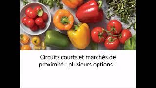 Circuits courts et marchés de proximité
