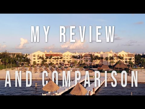 Excellence Riviera Cancun VS Excellence Playa Mujeres Review (2018)