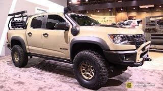 2018 Chevrolet Colorado American Expedition Vehicles - Exterior Walkaround - 2017 SEMA Las Vegas