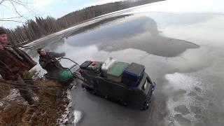 Рыбалка в конце ноября по первому льду