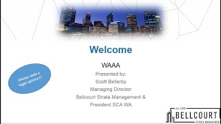 Hear all about the new WA Strata Regs