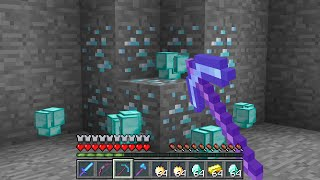 Minecraft UHC but ores drop STACKS of ORE BLOCKS...