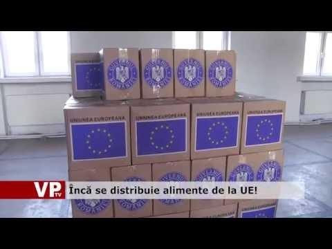 Încă se distribuie alimente de la UE!