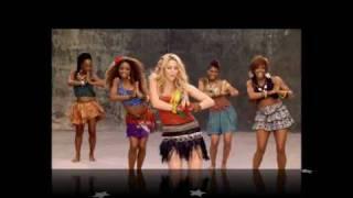 Shakira   Waka Waka (This Time For Africa) Viedo With She Wolf Song