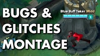 Bugs & Glitches Montage (League of Legends)