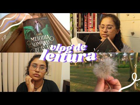 VLOG #37: Desabafos, saúde mental e a leitura de Uma Melodia de Sombras e Ruínas