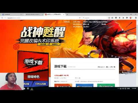 Video TUTORIAL CARA DAFTAR DAN DOWNLOAD KRITIKA ONLINE SERVER CN!!!!