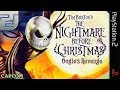 Longplay Of Tim Burton 39 s The Nightmare Before Christ